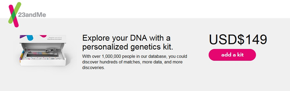DNA Ahnentest 23andMe